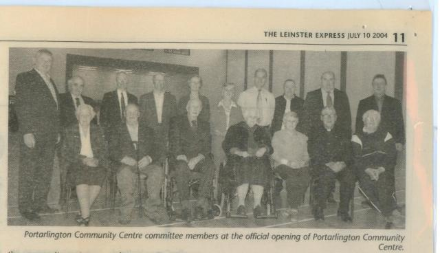 opening of community centre 001