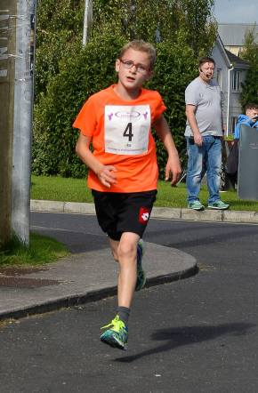 1st Junior Max Treacy Ran 21.56