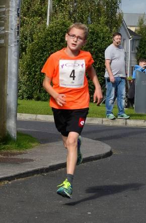 1st Junior Max Treacy Ran 21.56