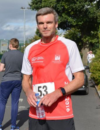 1st Male Paul Wynne Ran in 18.06