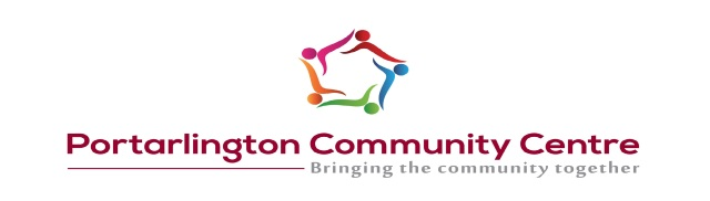 Portarlington Community Centre New LOGO 2017
