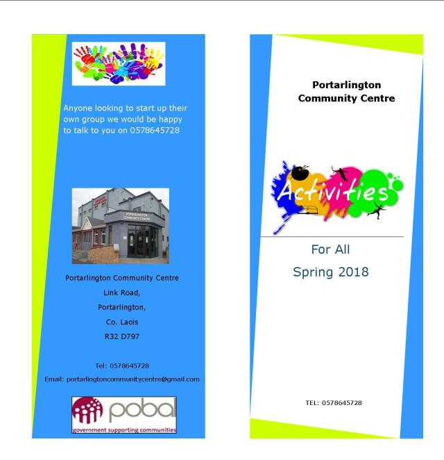 activities brochure Spring 18 website