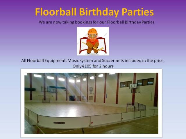 floorball birthday parties