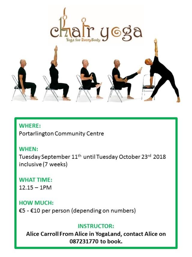Chair yoga facebook