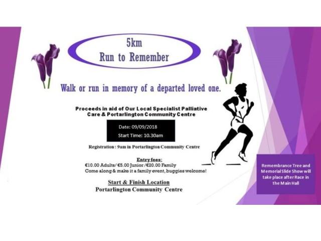 run to rem facbook poster
