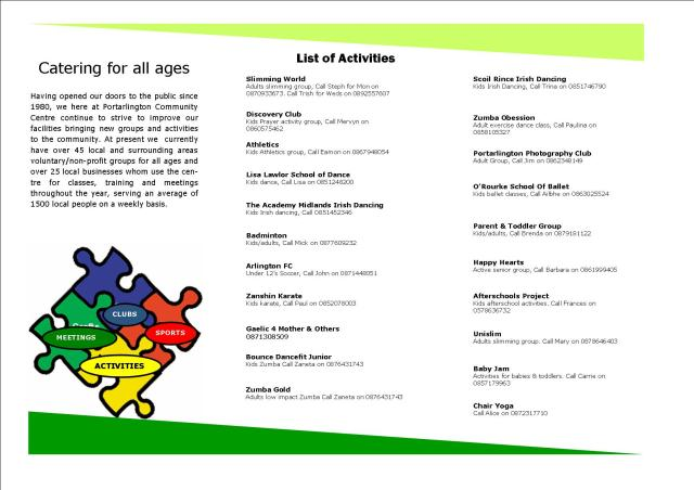 Activities booklet 1