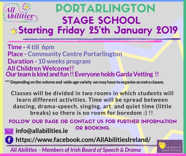 all abilities stage school facebook